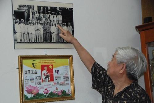 Ông Vũ Mạnh Kha, người con trưởng cố đại tá Trần Hiệu.