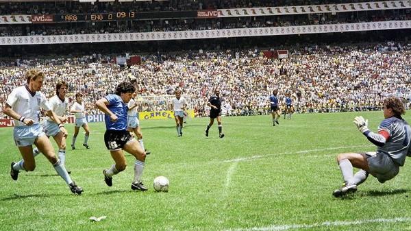 Tình huống đi bóng của Maradona trước tuyển Anh vào năm 1986 là một khoảnh khắc mà cựu danh thủ này đã mường tượng ra khi còn là một cậu bé.