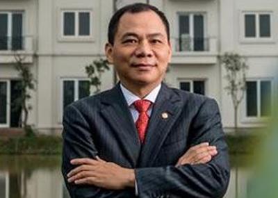 Ông Phạm Nhật Vượng là đại diện duy nhất của Việt Nam có mặt trong danh sách tỷ phú đô la của Forbes