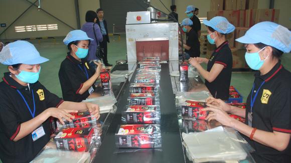 Sản phẩm cà phê hòa tan của Trung Nguyên được sản xuất tại 1 trong 3 nhà máy tại Bắc Giang, Bình Dương và Mỹ Phước