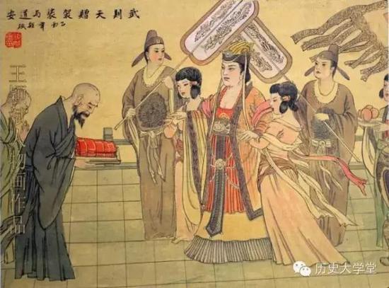 Phùng Tiểu Bảo được Võ Tắc Thiên lệnh cho xuất gia, được ban cho danh pháp Tiết Hoài Nghĩa, ngày ngày có thể ra vào cung gặp nữ hoàng mà không ngại bị dị nghị.
