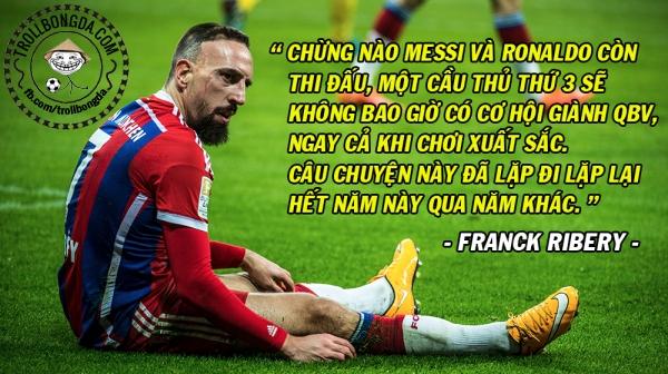 Ribery nói có đúng?