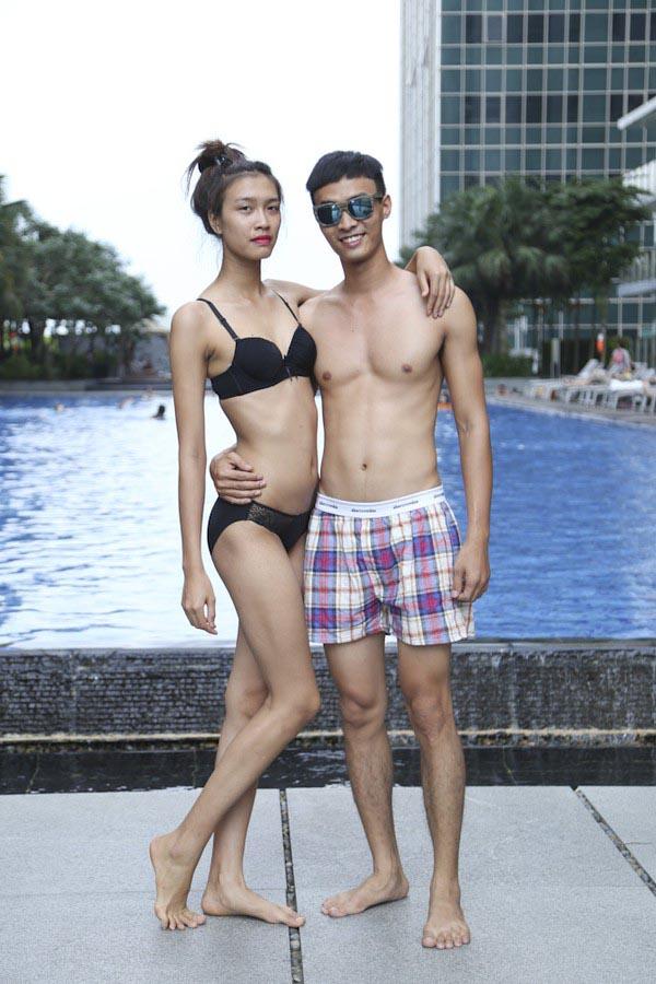Từ những thử thách đầu tiên, Nguyễn Oanh để lộ nhược điểm vì không có kiến thức về nghề người mẫu và thời trang.