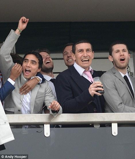 Rafael vô cùng phấn khích