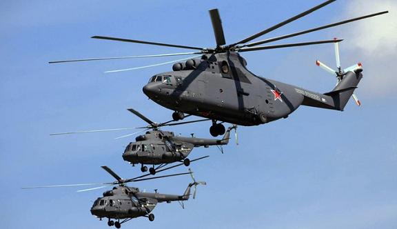 Algeria cũng là nước đầu tiên sở hữu trực thăng vận tải lớn nhất thế giới Mi-26T2