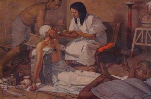 Người Ai Cập sử dụng các nguyên liệu thiên nhiên để làm kẹo thơm.