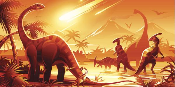 Kích thước khổng lồ của khủng long được cho là một nguyên nhân gián tiếp khiến loài này bị tuyệt chủng