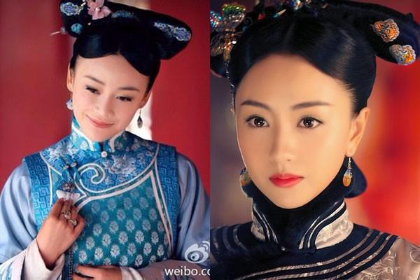 Trong Cung tỏa liên thành, diễn xuất của Dương Dung trong vai nữ thứ chính ĐôngDục Tú hoàn toàn ăn đứt nữ chính Viên San San (thể hiện vai Liên Thành).