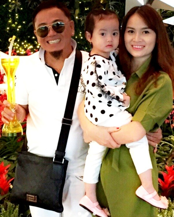 Gia đình nhỏ của nghệ sĩ hài Hồng Tơ. Ảnh: Nhân vật cung cấp.