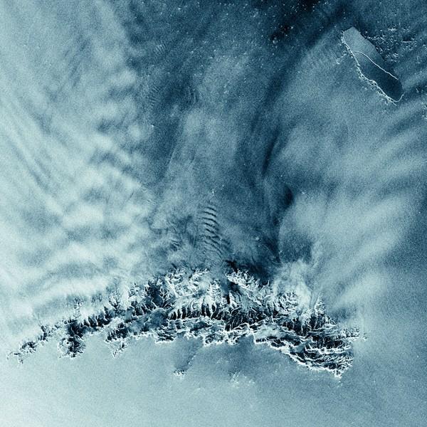 Hình ảnh tảng băng trôi khổng lồ A53a chụp từ vệ tinh