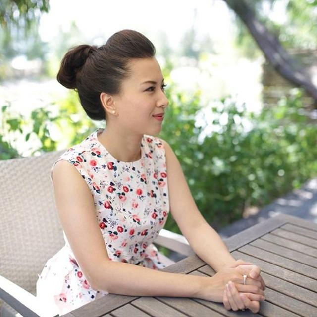 Chồng của Phạm Vân Anh cũng là một trong những lãnh đạo cao cấp trẻ tuổi nhất của Vietinbank khi giữ chức giám đốc chi nhánh Đống Đa. Ảnh: FBNV.