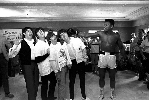 The Beatles gặp Muhammad Ali, 1964.