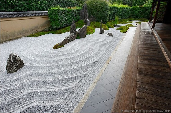 Vườn Zen trongChùaDaitoku-ji