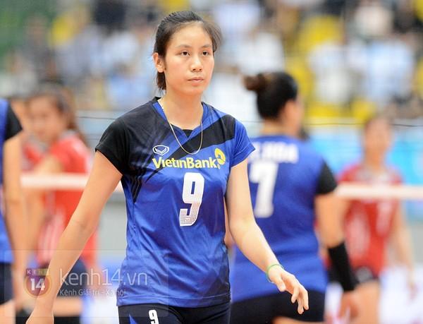 Minh Tâm sinh năm 1991, cao 1m73 và hiện đang là chủ công của đội bóng chuyền Ngân Hàng Công Thương.
