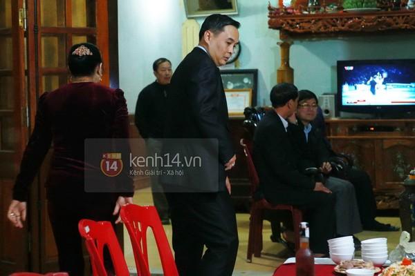 Khánh Chi cùng chồng về dự đám cưới anh trai Công Vinh 5