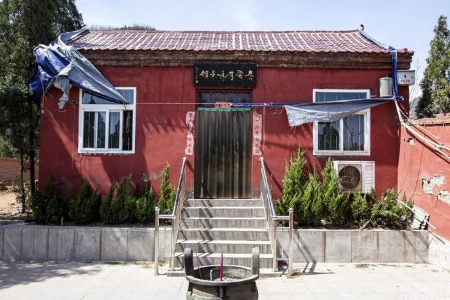 Ngôi chùa Lingquan, nơi lưu giữ thi thể thiền sư Wu.