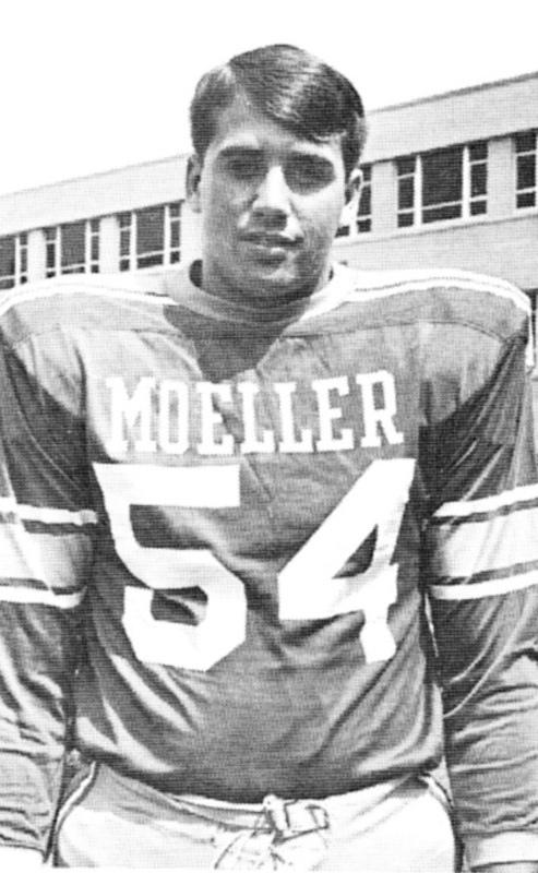 John Boehner khi còn là đội trưởng đội bóng bầu dục trường cấp 3 Mueller.