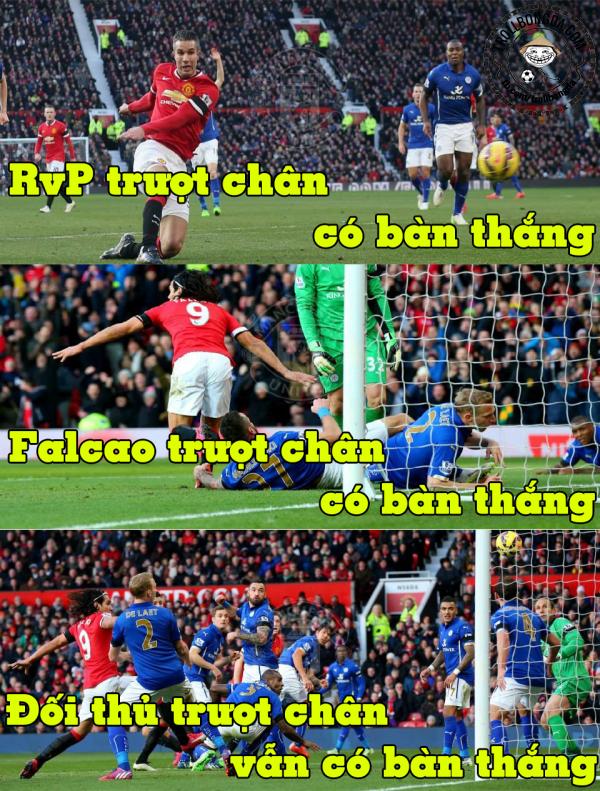 Một khi Man United đã vào cầu