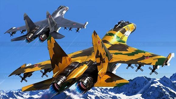 Trung Quốc mua sắm vũ khí Nga để bù đắp chỗ yếu và thiếu (Ảnh: Chiến đấu cơ Su-35)