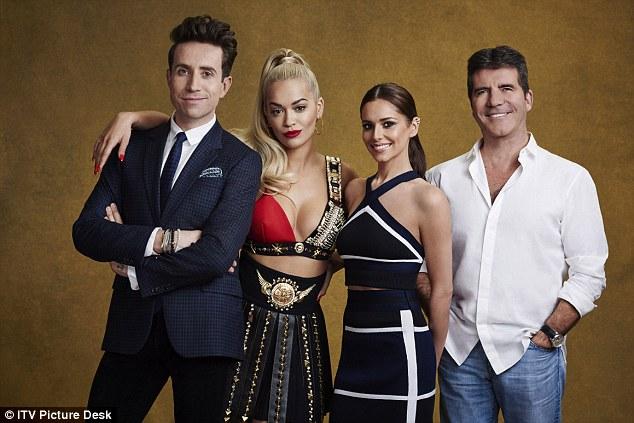 Cheryl trở lại làm giám khảo X Factor.