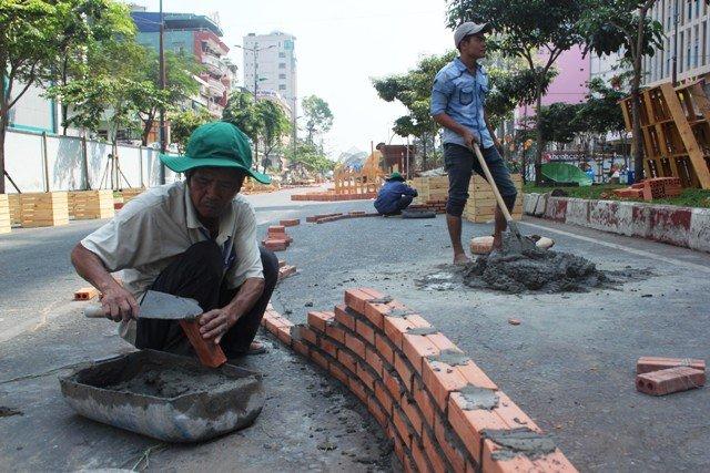đường hoa, tết Ất Mùi, nông thôn, đường quê, phố Sài Gòn, đường Hàm Nghi