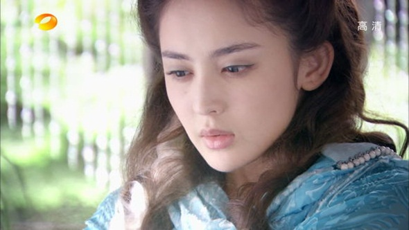 Nàng Nguyên Thanh Tỏa (Trương Hàm Vận) đẹp đến nao lòng trong bộ phim truyền hình.