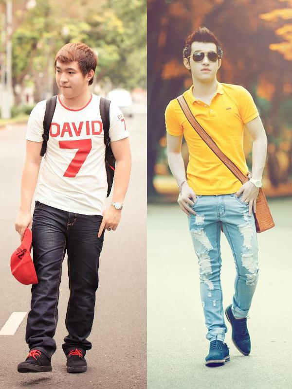 Nguyễn Khánh Bảo từng nặng 91kg. Sau khi giảm 30kg, anh đã tự tin với body của mình và thậm chí còn thành mẫu ảnh thời trang.
