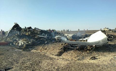 Chiều qua, hãng hàng không Đức Lufthansa cho biết họ sẽ không bay trên bán đảo Sinai khi nguyên nhân gây ra vụ tai nạn còn chưa được làm rõ. Ảnh: Daily Mail