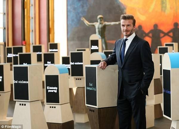 Là Đại sứ thiện chí cho tổ chức UNICEF, cựu ngôi sao Man Utd đã tham gia nhiều hoạt động giúp đỡ những trẻ em có hoàn cảnh khó khăn trên toàn thế giới.