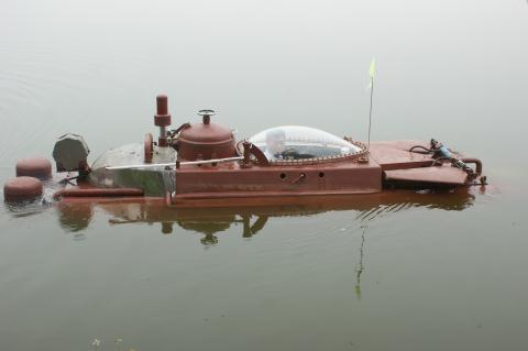 Clip Tàu ngầm Hoàng Sa thử thành công: Lặn nổi nhịp nhàng - Ảnh 7.