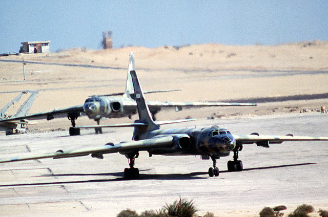 Các máy bay ném bom Tu-16 của Không quân Ai Cập bị tiêu diệt ngay từ cuộc không kích đầu tiên.