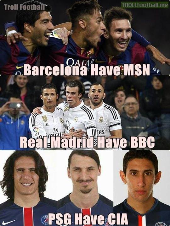 Sau MSN và BBC, giờ đây chúng ta có thêm bộ ba CIA.