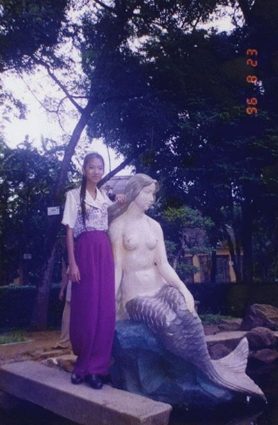 Khi lên 14 tuổi, chụp tại Sài Gòn