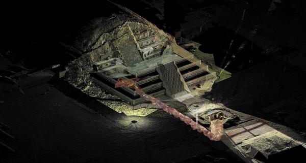 Dòng sông thủy ngân trong lăng mộ của Tần Thủy Hoàng