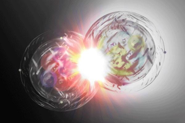 Sự va chạm giữa hạt và phản hạt sẽ gây ra năng lượng cực lớn