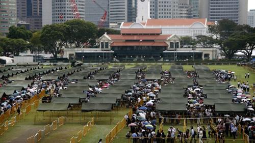 Lý Quang Diệu, Singapore