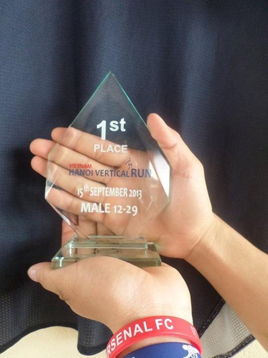 Tháng 9.2013, Vũ Xuân Tiến đoạt giải nhất cuộc thi chạy bộ 72 tầng tại tòa nhà Keangnam, Hà Nội với thành tích 11 phút 44 giây và giành giải nhất ở giải đấu dành cho những vận động viên không chuyên. Sau đó anh tham gia những giải chạy việt dã khác.