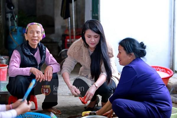 Khánh Chi cùng chồng về dự đám cưới anh trai Công Vinh 7