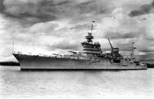 Vụ đắm tàu USS Indianapolis (CA-35) đắm trở thành vụ có số người thiệt mạng lớn nhất trong lịch sử hàng hải thế giới
