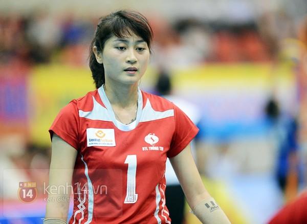 Cô gái sinh năm 1991 của đội LienVietPostBank hiện đang là VĐV nổi bật trong đội tuyển bóng chuyền nữ Việt Nam.