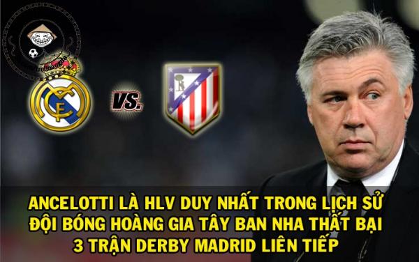 Ancelotti quá đen