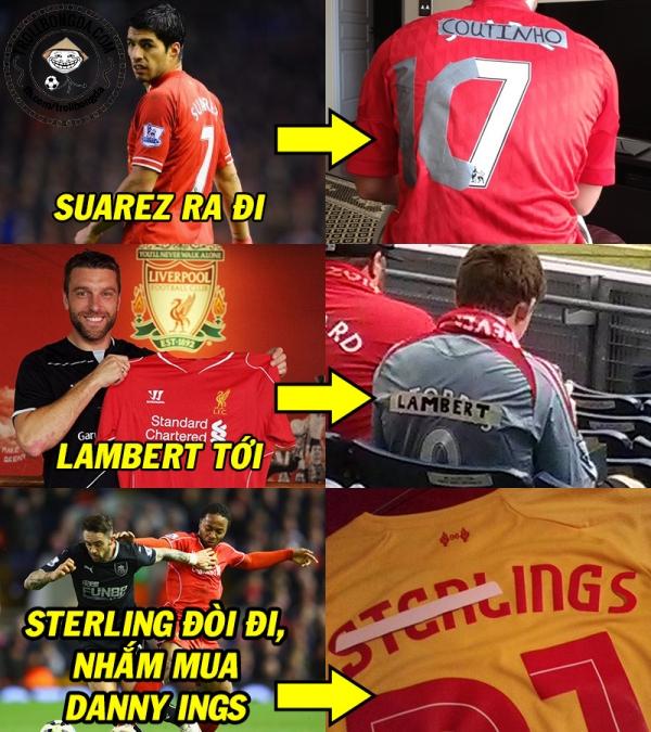 Cách mà fan Liverpool đối xử với áo đấu đây chăng?