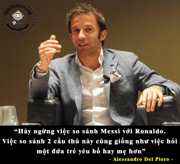 Bạn có đồng ý với Del Piero