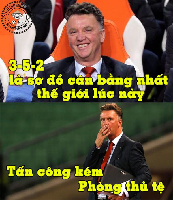 Van Gaal quá cứng đầu?