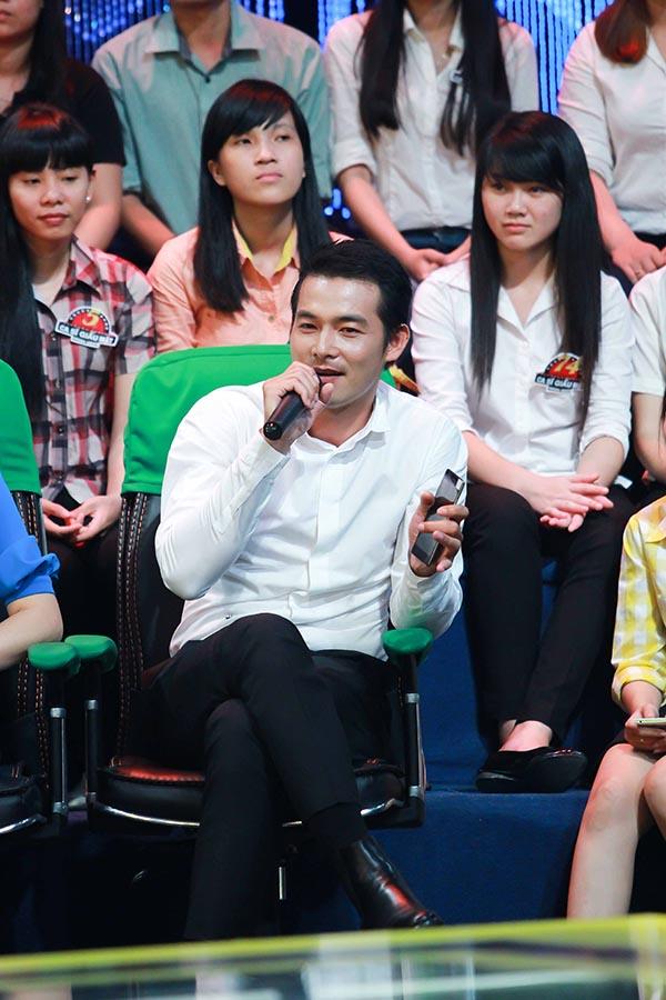 Quách Ngọc Ngoan cũng tham gia chương trình.