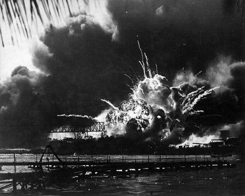 chiến hạm USS West Virginia bị đánh chìm