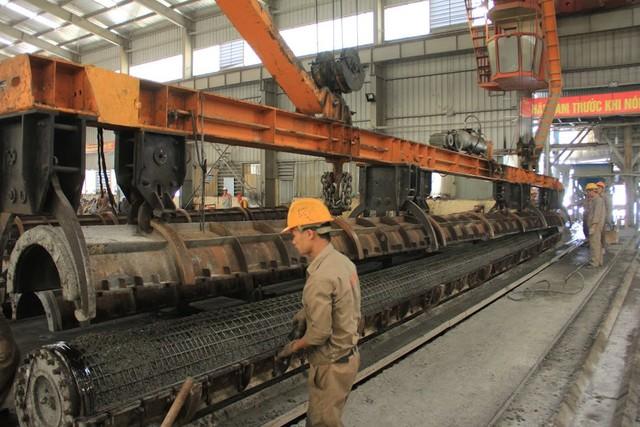 Inside Factory: Bên trong nhà máy sản xuất cọc bê tông lớn nhất miền Bắc (8)