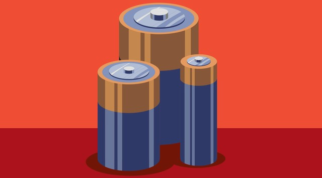 iPhone 6S sử dụng pin alkaline có thể hoạt động trong 9 tiếng