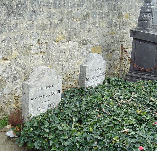 Mộ của Vincent và Theo van Gogh tại nghĩa trang Auvers-sur-Oise, Pháp