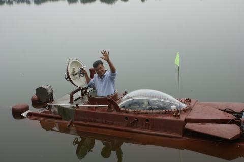 Clip Tàu ngầm Hoàng Sa thử thành công: Lặn nổi nhịp nhàng - Ảnh 9.